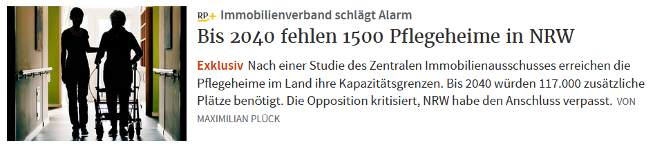 Pflegenotstand NRW